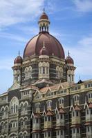 MUMBAI, INDIA, OCTOBER 9, 2015 - Taj Mahal Palace Hotel in Mumbai, India. This five star hotel was opened at 1903 and have 560 rooms and 44 suites. photo