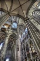 Colonia, Alemania, 28 de febrero de 2015 - Detalle de la catedral de Colonia en Alemania. es sede del arzobispo de colonia y administración de la arquidiócesis de colonia. foto