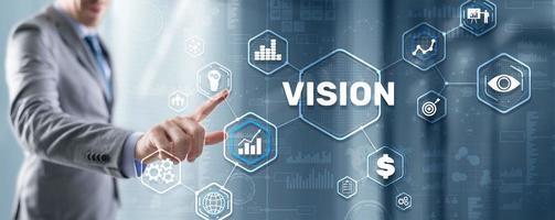 Vision Direction Future Business Inspiration Motivation Concept photo
