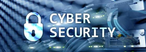 Cyber security, data protection,information privacy. Internet and technology concep photo