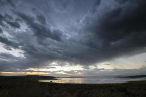 Anticipating Sunrise, Mono Lake photo