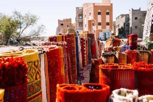 carpets market marrakech photo