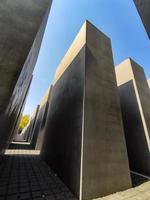 berlín 2019- memorial del holocausto en memoria de las víctimas del nazismo foto