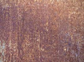 brown rusted steel texture background photo