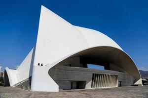 TENERIFE, SPAIN, AUGUST 31, 2013 - Auditorio de Tenerife in Tenerife, Spain. It was designed by architect Santiago Calatrava Valls and opened at September 26, 2003. photo