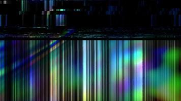 uma sobreposição de falha retro. fundo abstrato de distorção. efeito digital. video