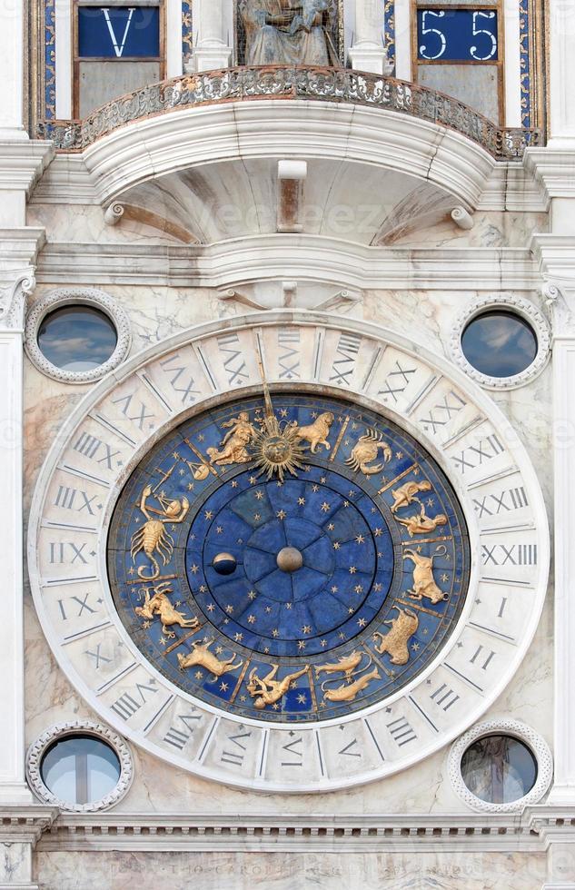 orologio astronomico di San Marco foto