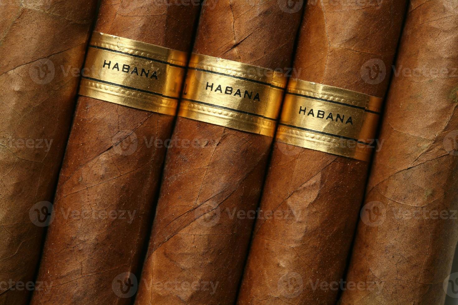 trama di sigari Avana foto