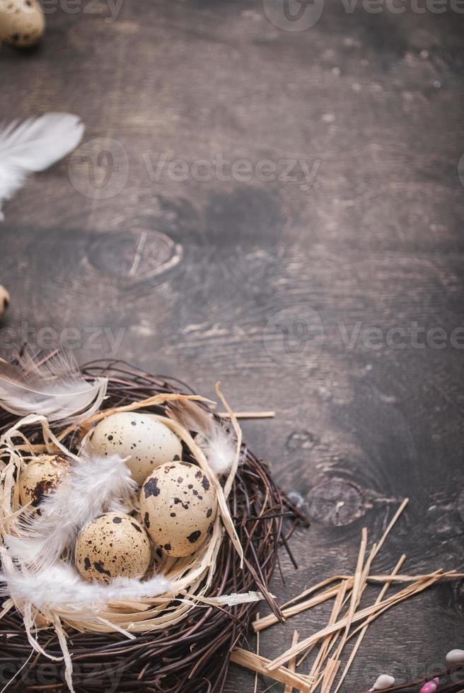 decorazione delle uova di Pasqua foto