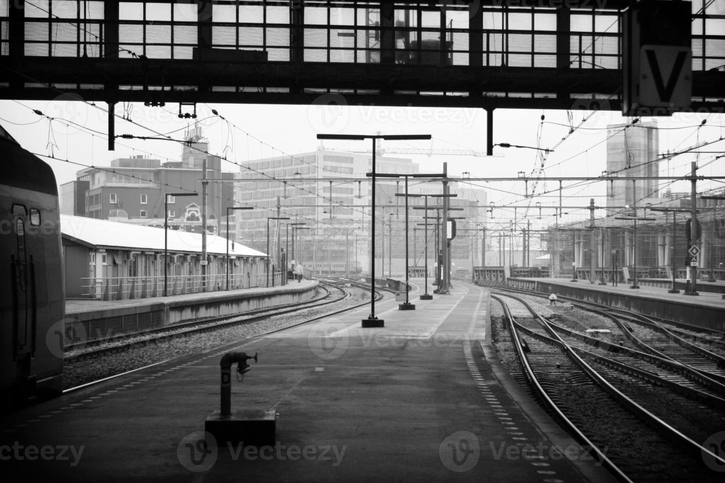 stazione ferroviaria di amsterdam foto