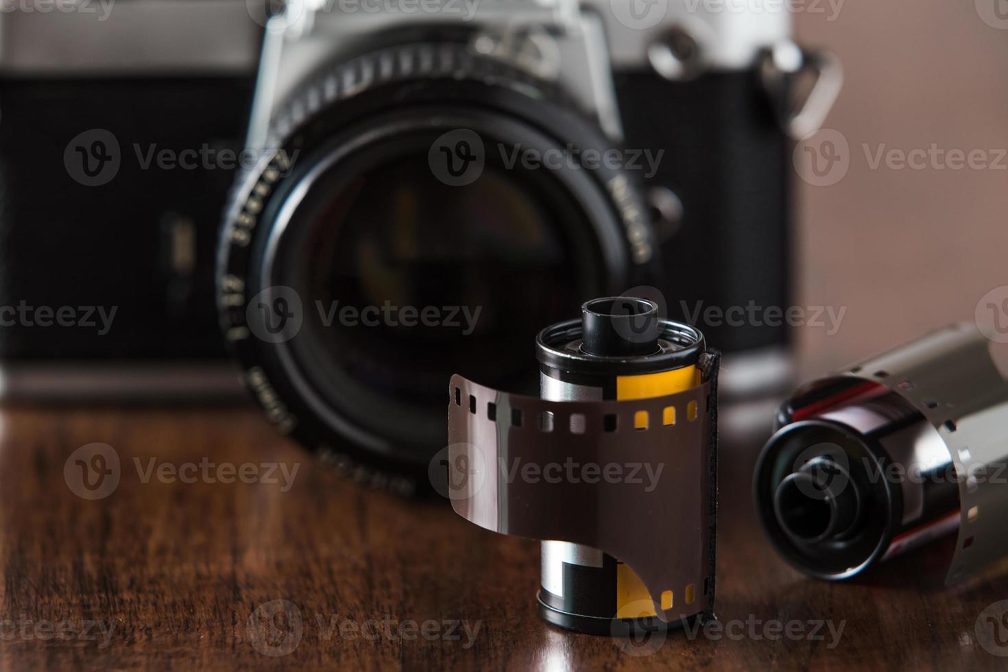 film e macchina fotografica foto