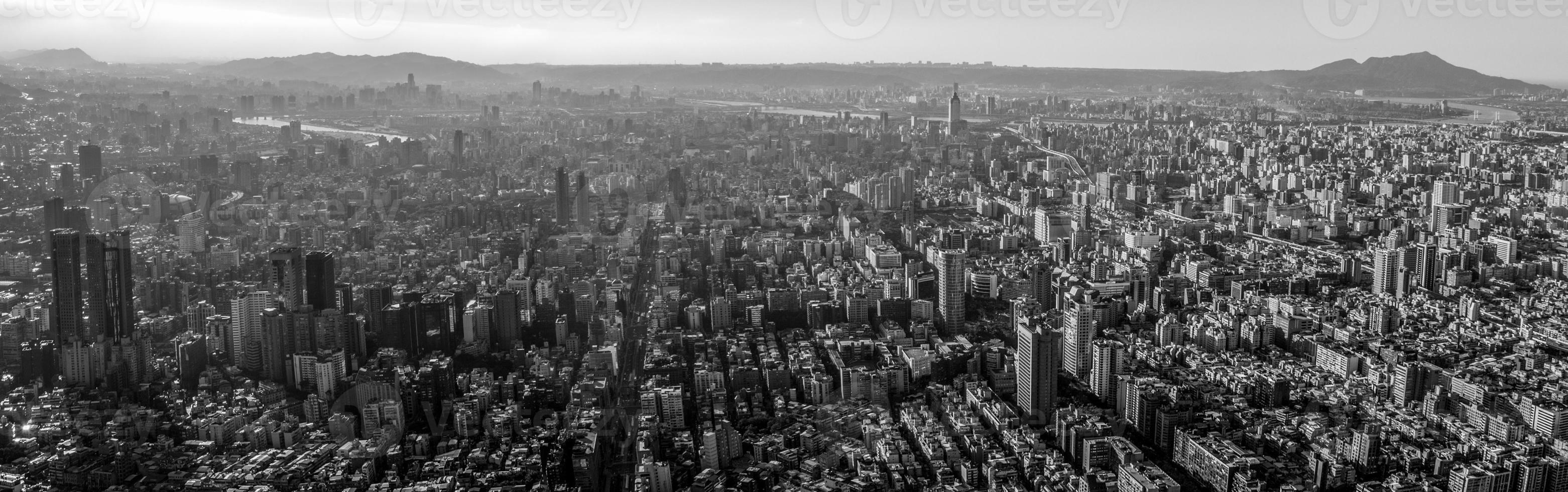 panorama di Taipei foto
