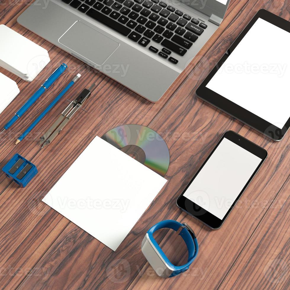 modello di business mockup. alta risoluzione. foto
