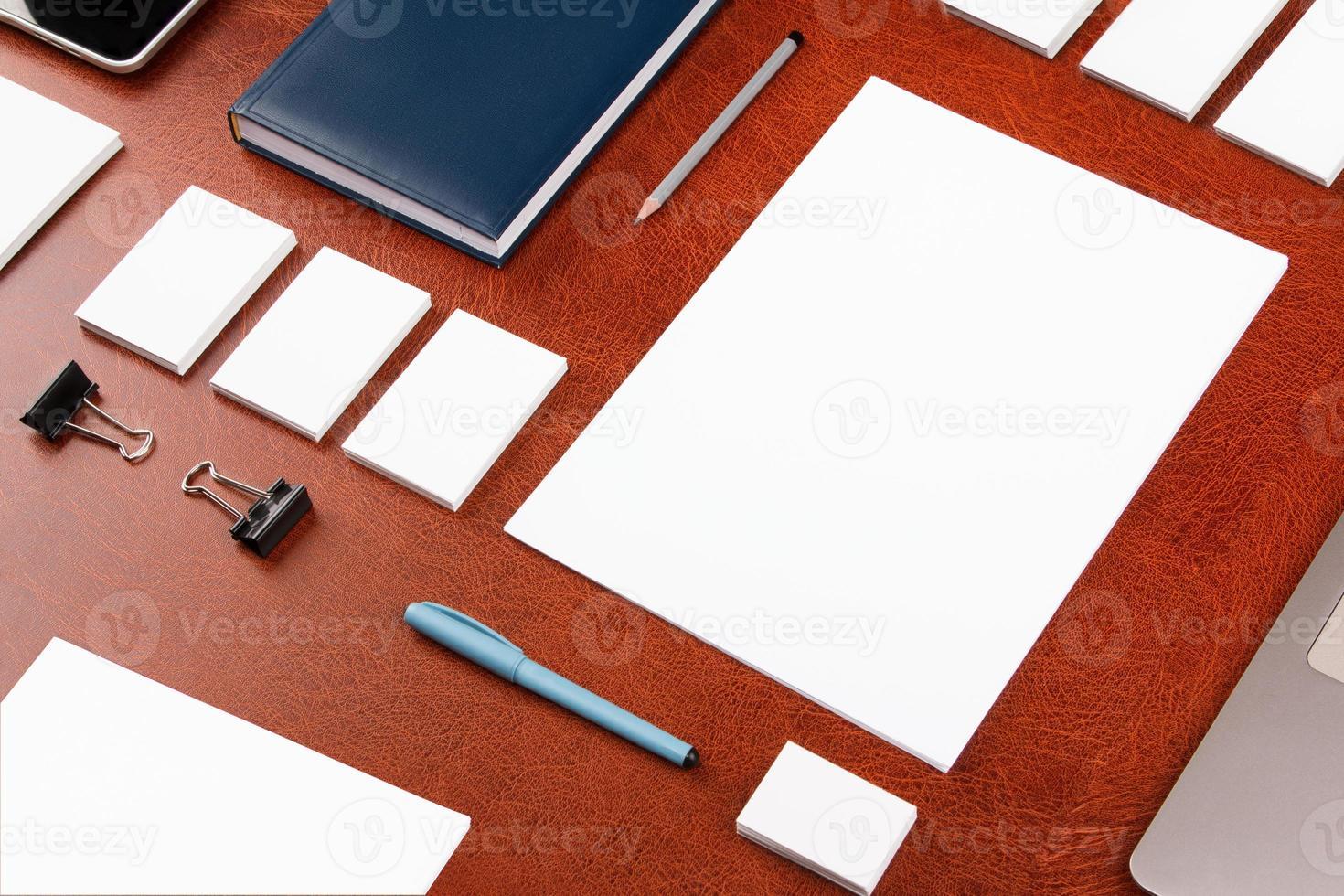 modello di business mockup foto