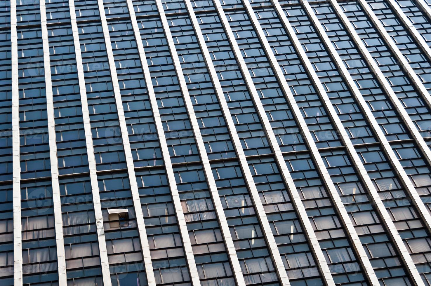 facciata di un edificio moderno foto