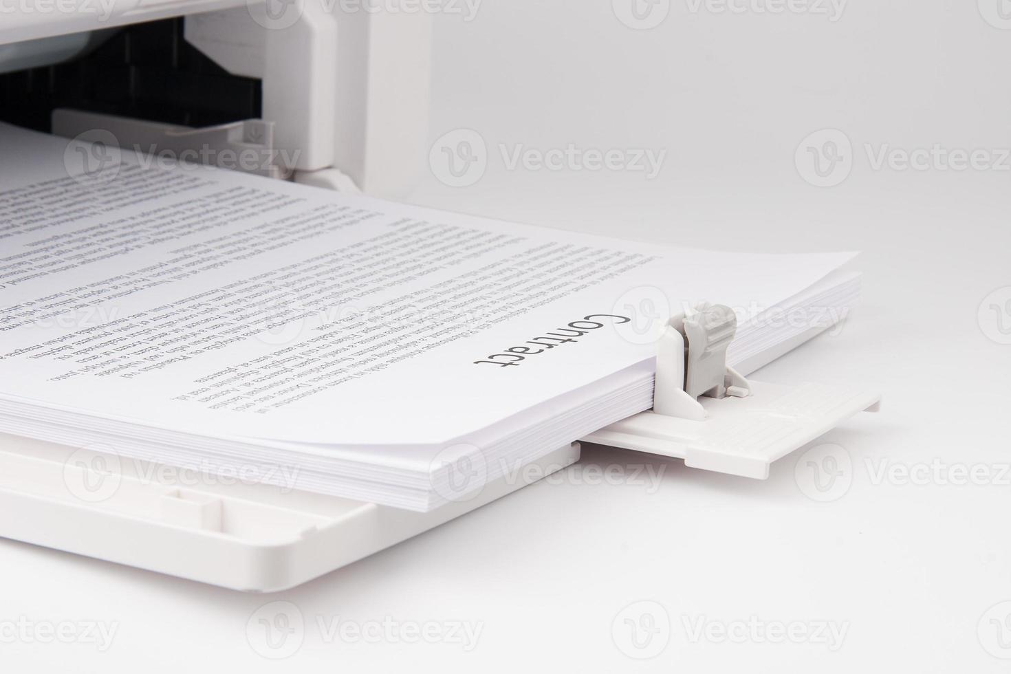 moderna stampante laserjet foto
