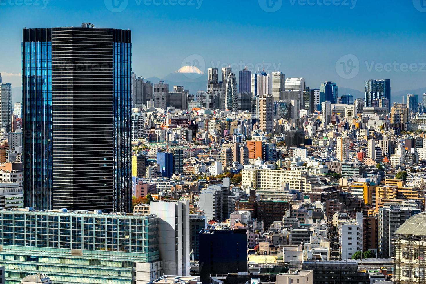 Tokyo Skyline, Giappone. foto