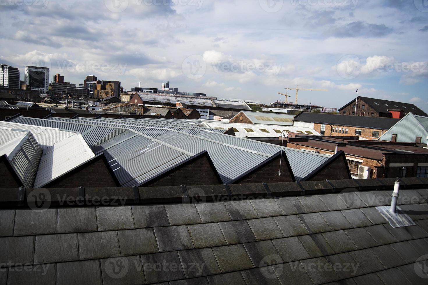scenario di città industriale foto