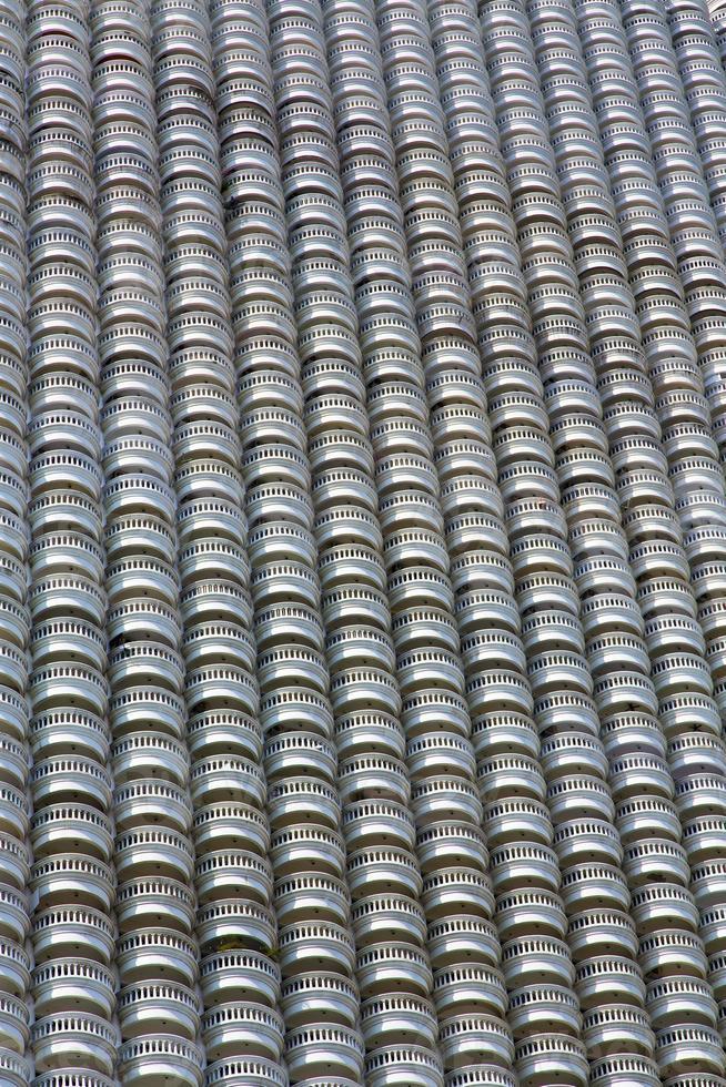 Bangkok Tailandia riflesso della terrazza del centro foto