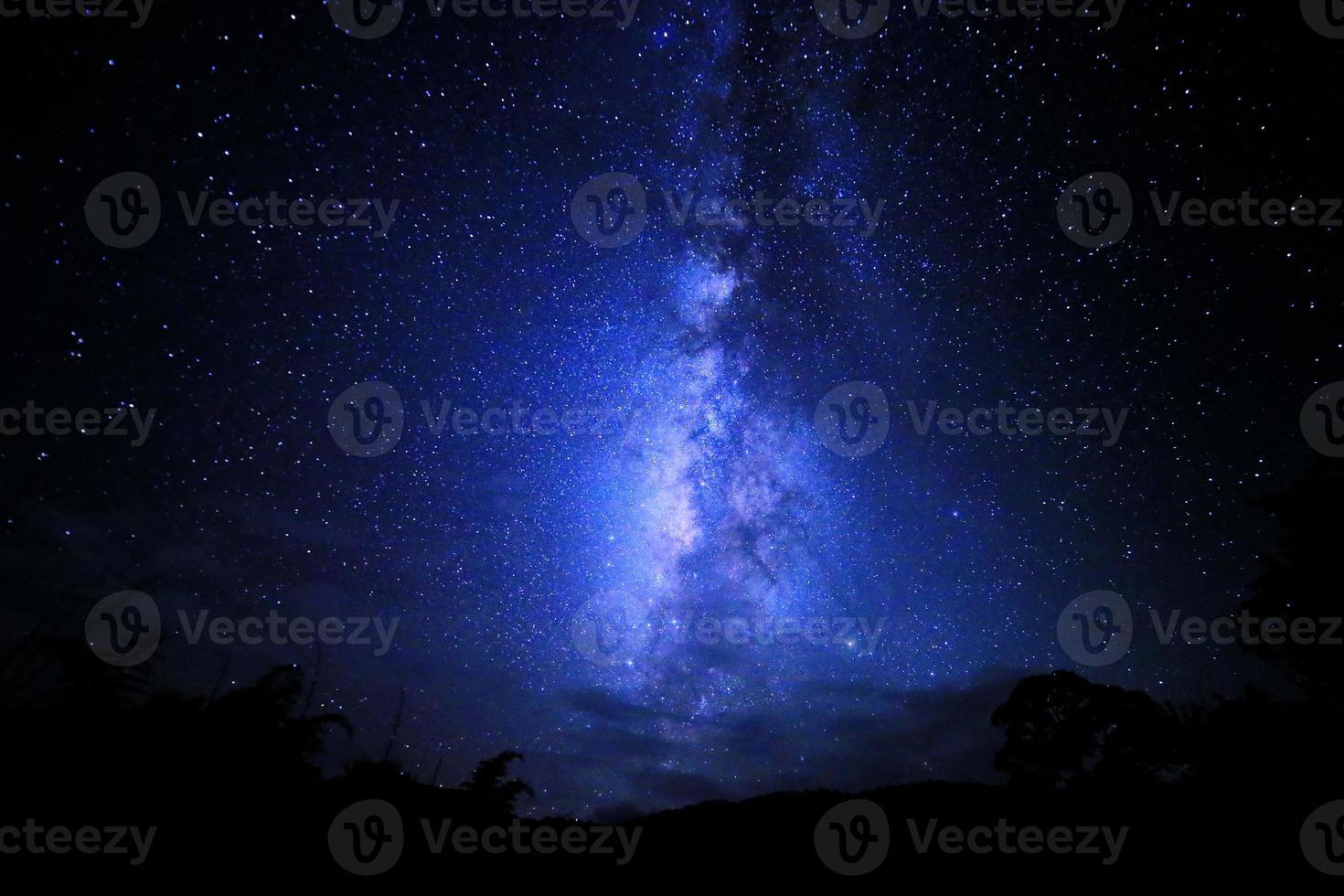 la via Lattea foto