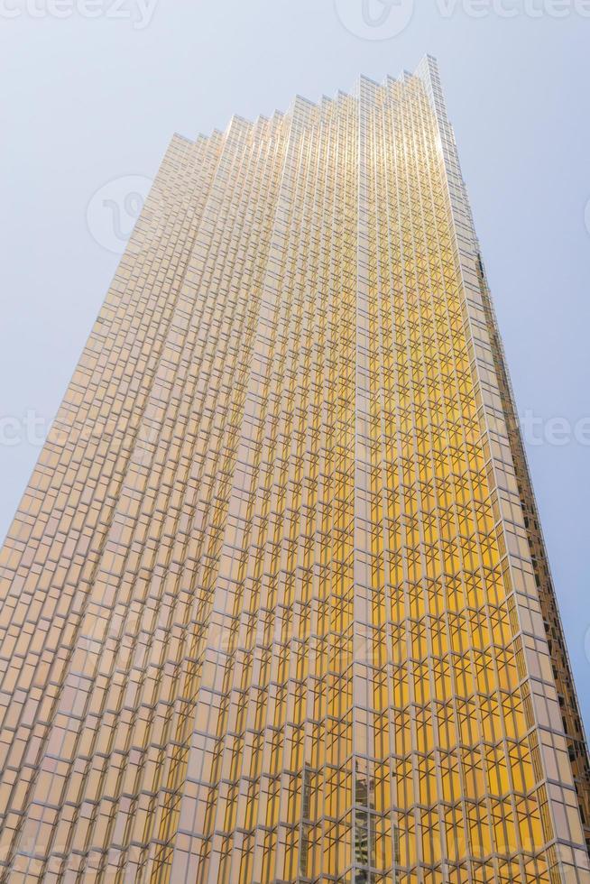 grattacielo di vetro moderno foto