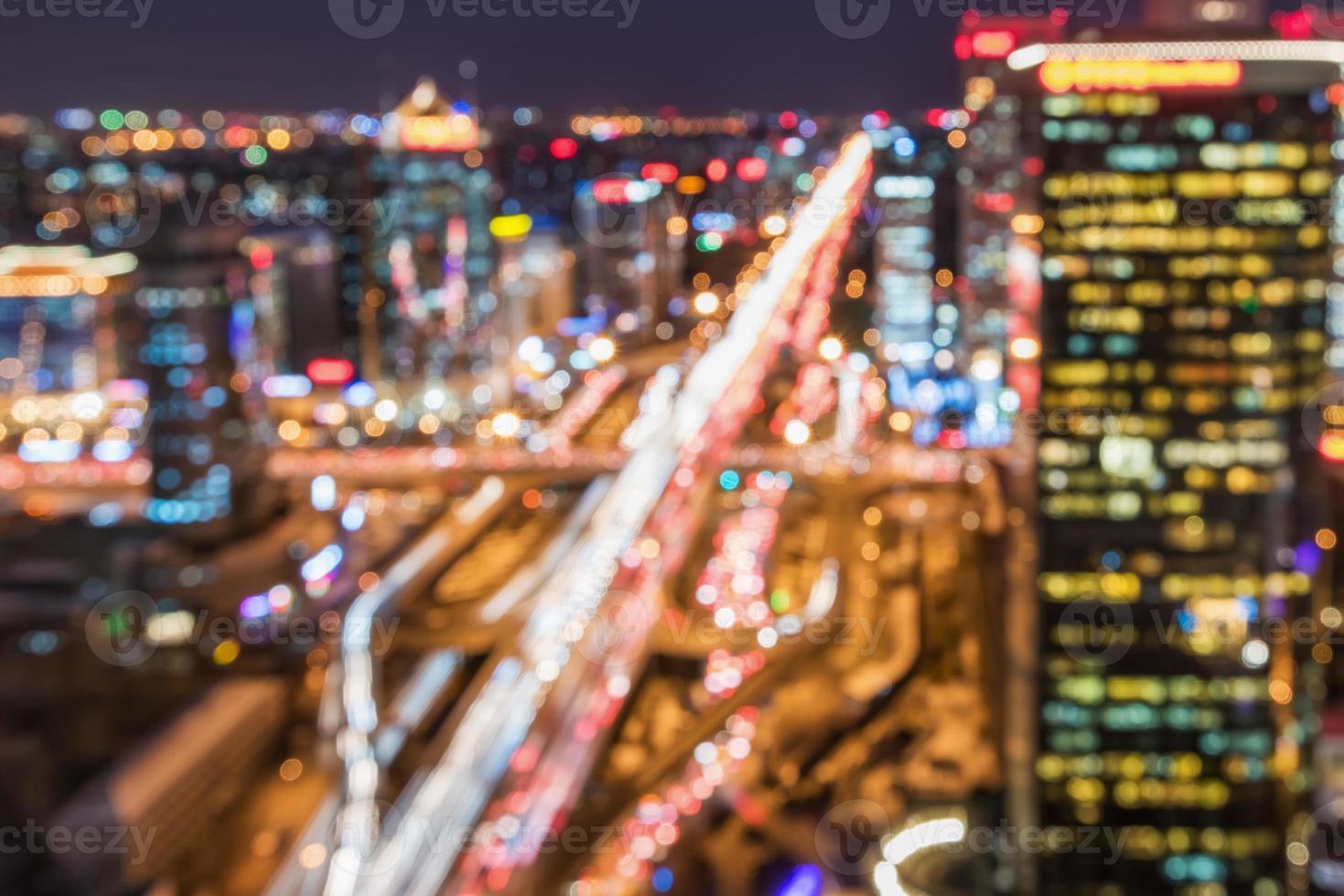 sogno di Pechino notte di cbd, molto bello! foto