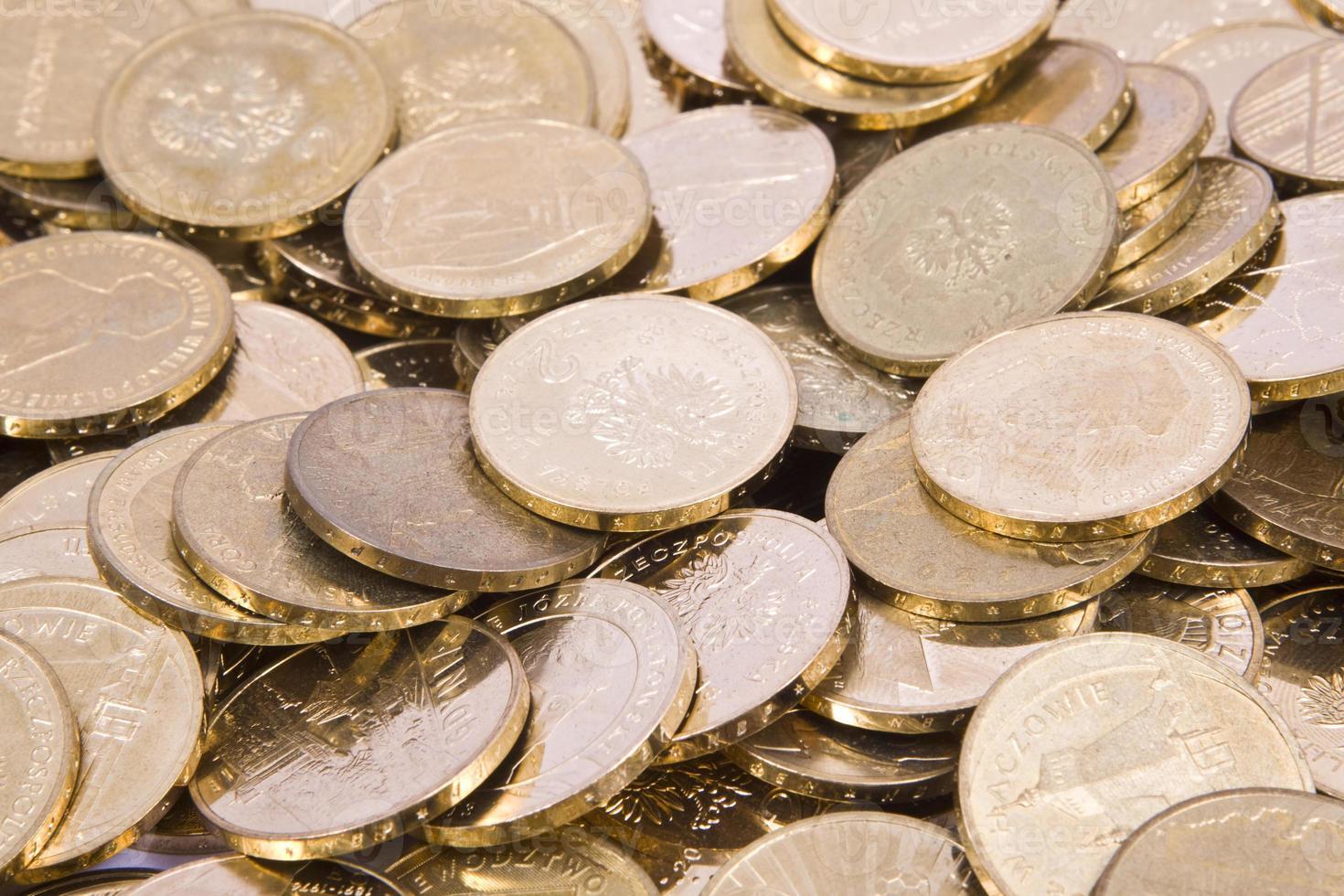 monete in zloty polacco pln foto