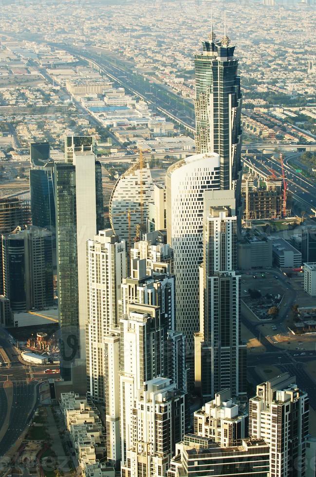 downtown of dubai (emirati arabi uniti) foto
