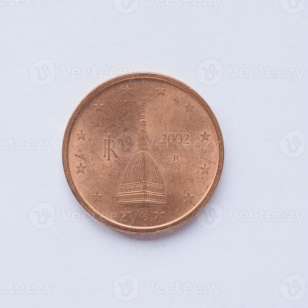 moneta italiana da 2 centesimi foto