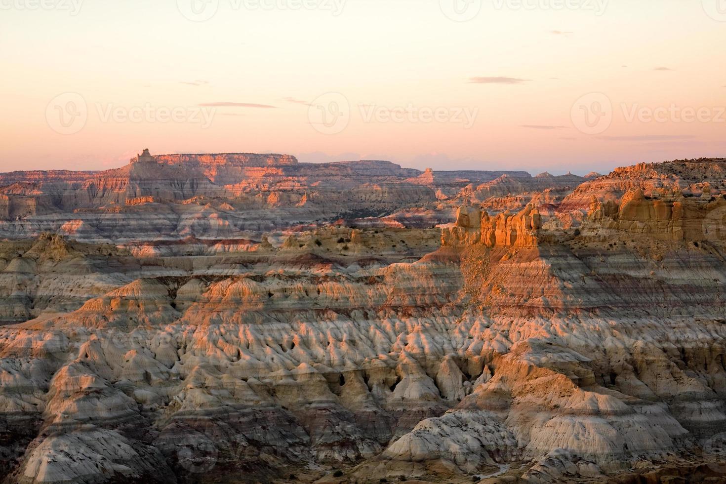 calanchi del deserto foto