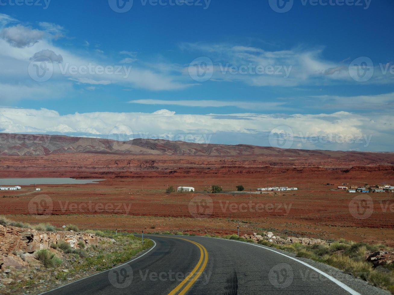 strada del deserto foto