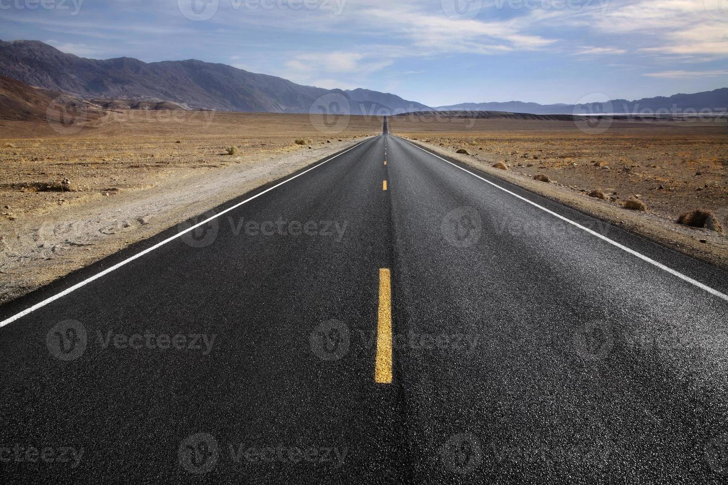 autostrada del deserto foto