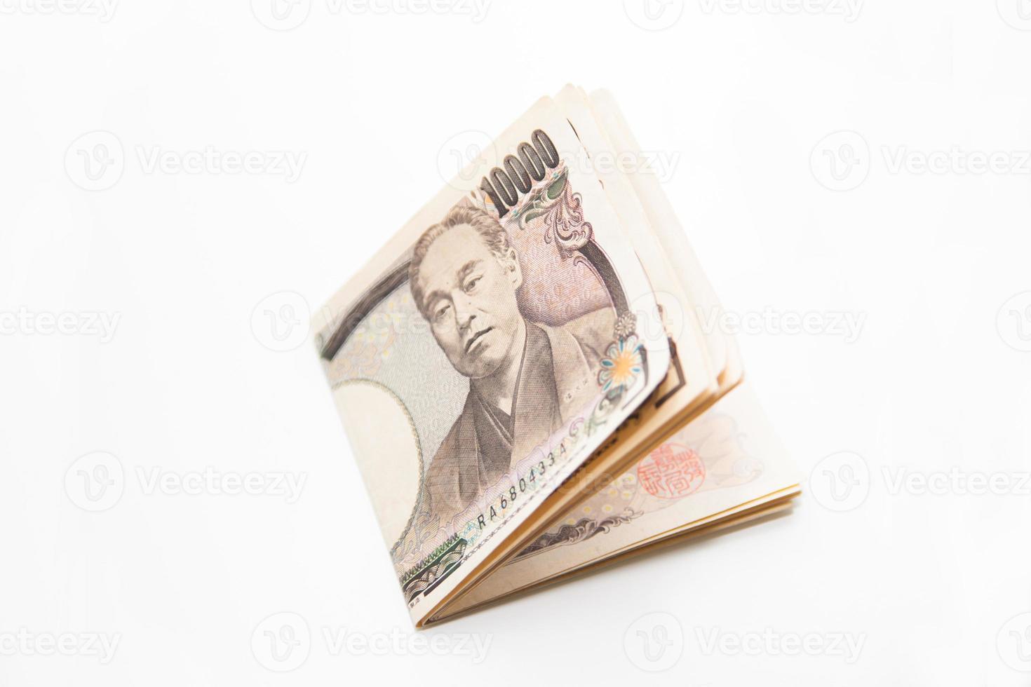 valuta giapponese foto