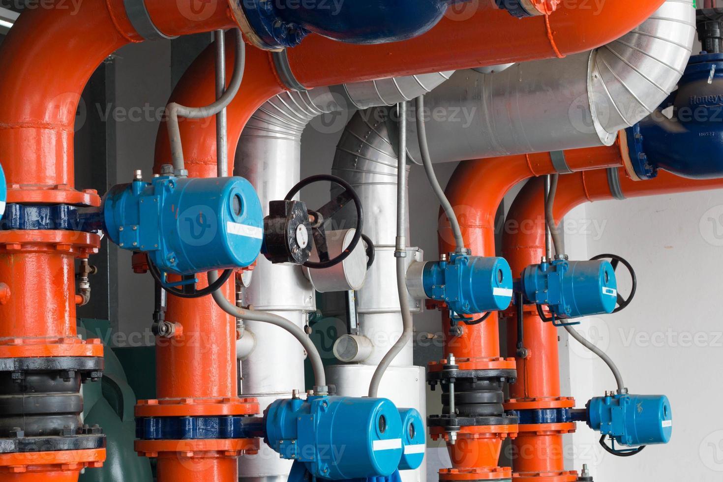compressori di refrigerazione per tubi. foto