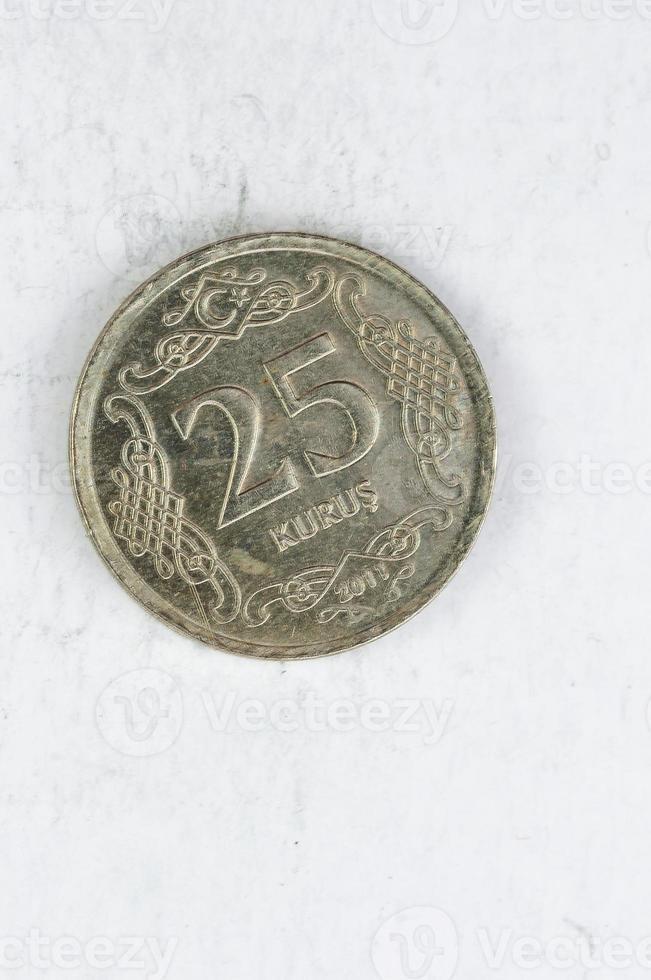 25 turk kurus moneta d'argento alu foto