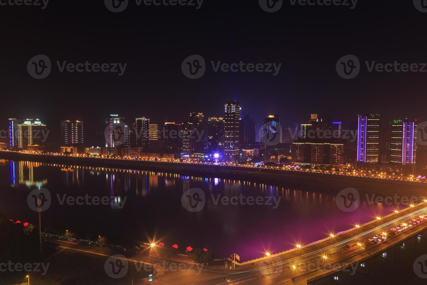 città moderna foto