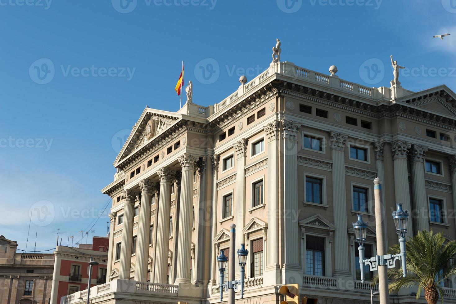edificio del governo militare di Barcellona foto