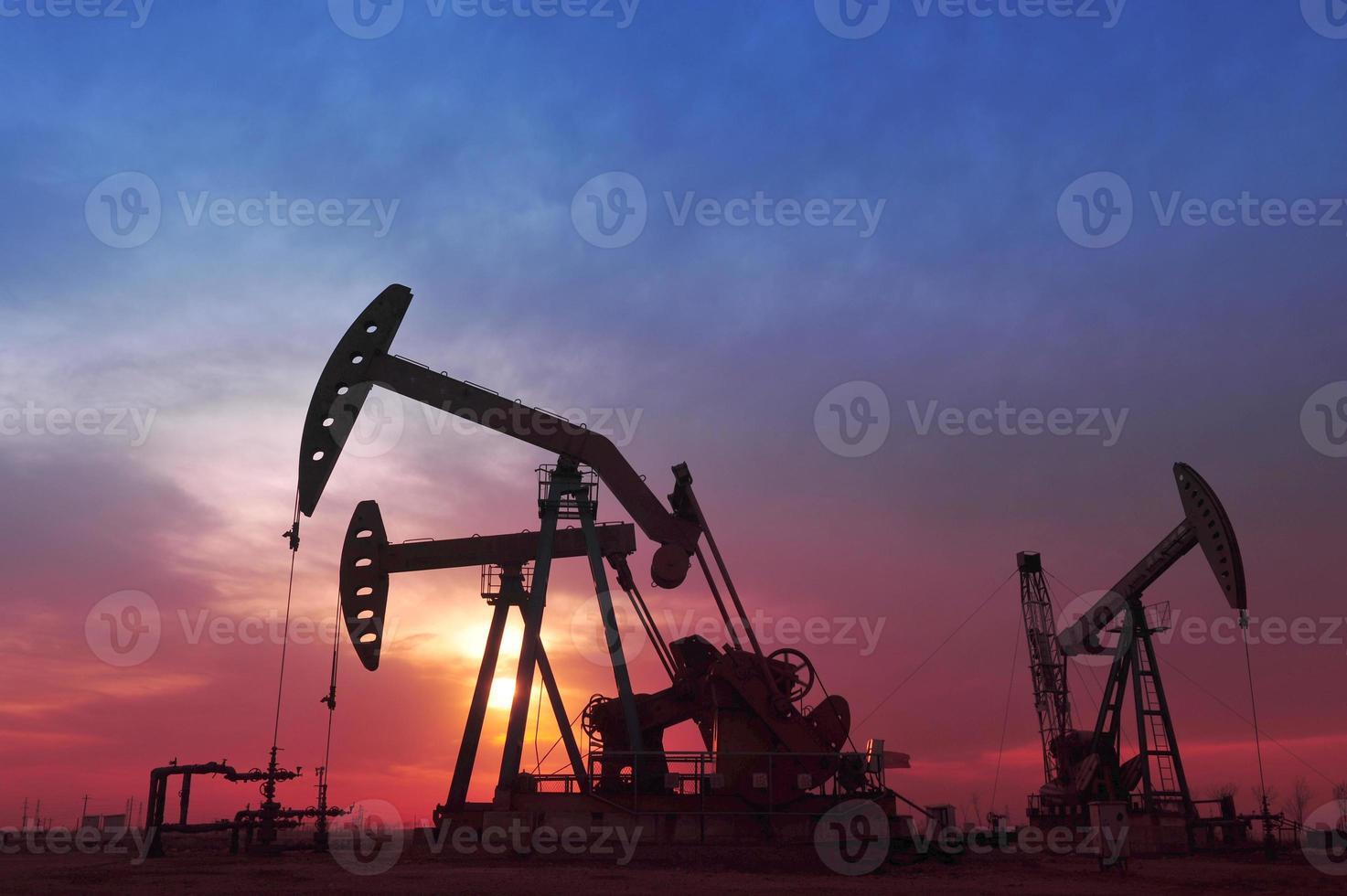 pompa dell'olio foto