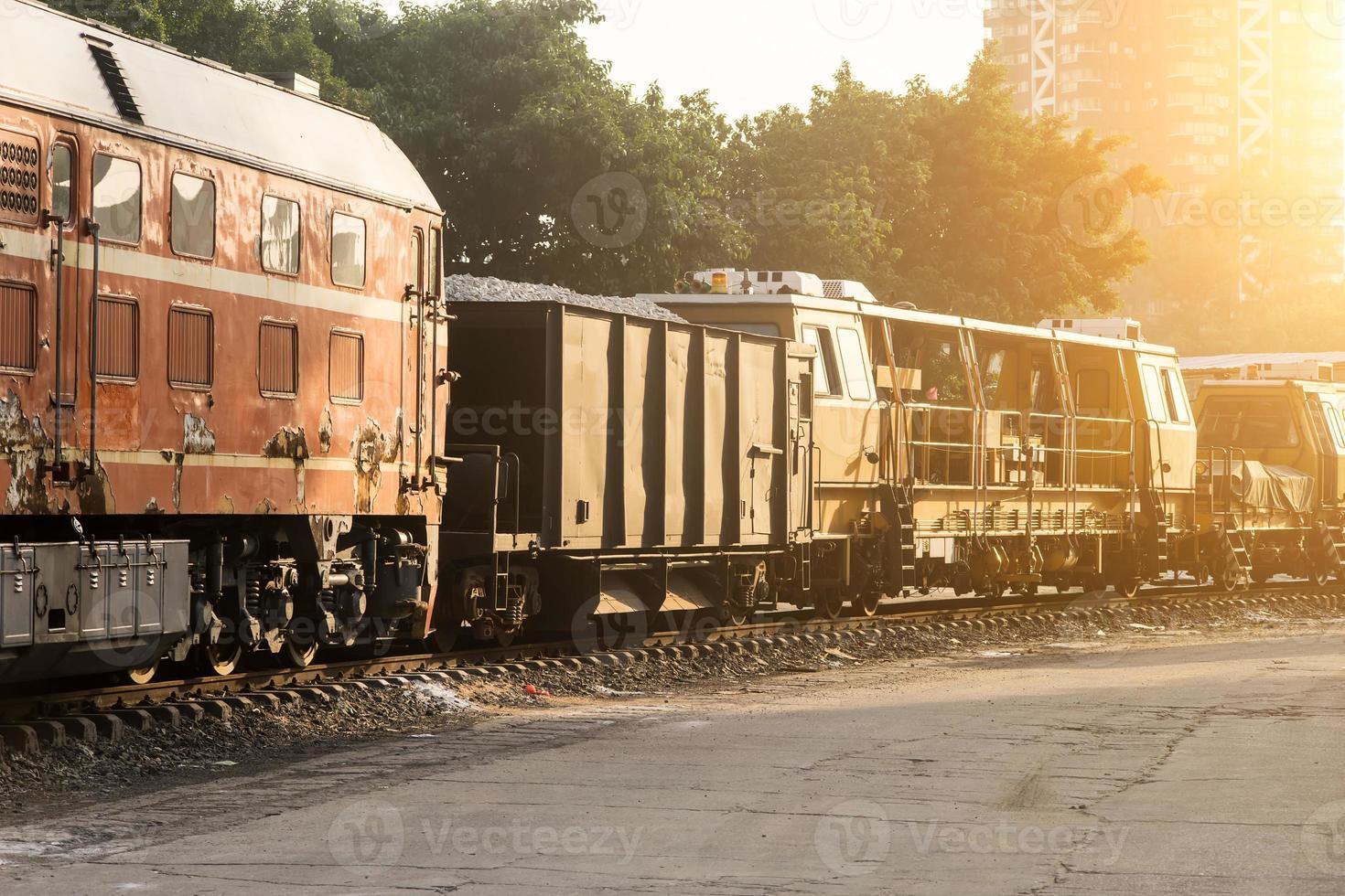 vagoni ferroviari foto
