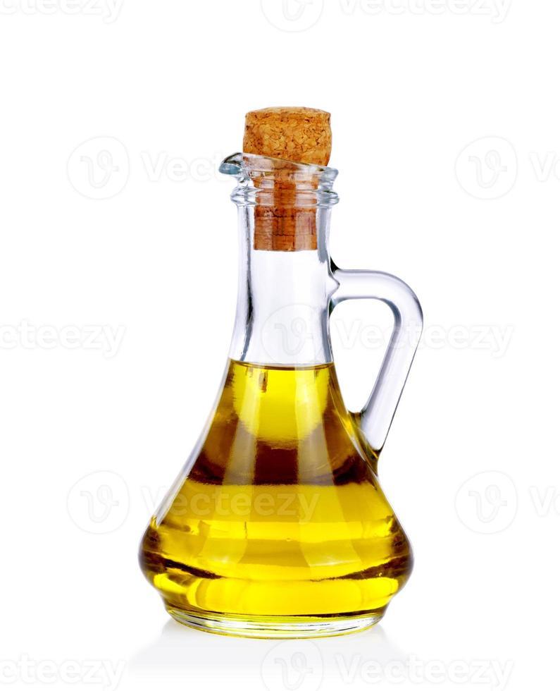 bottiglia di olio d'oliva foto