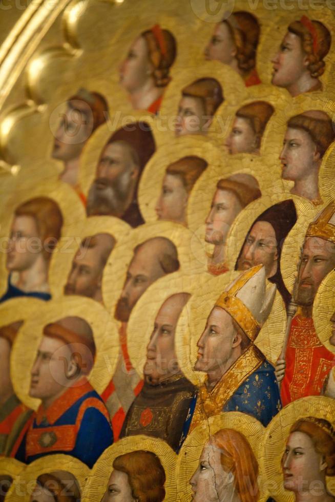 firenze - basilica di santa croce. foto