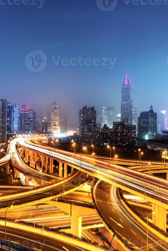 interscambio di Shanghai foto
