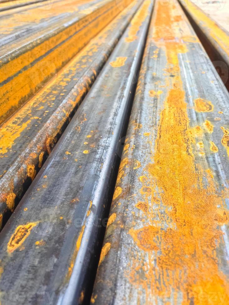 sfondo di ferro e acciaio. foto