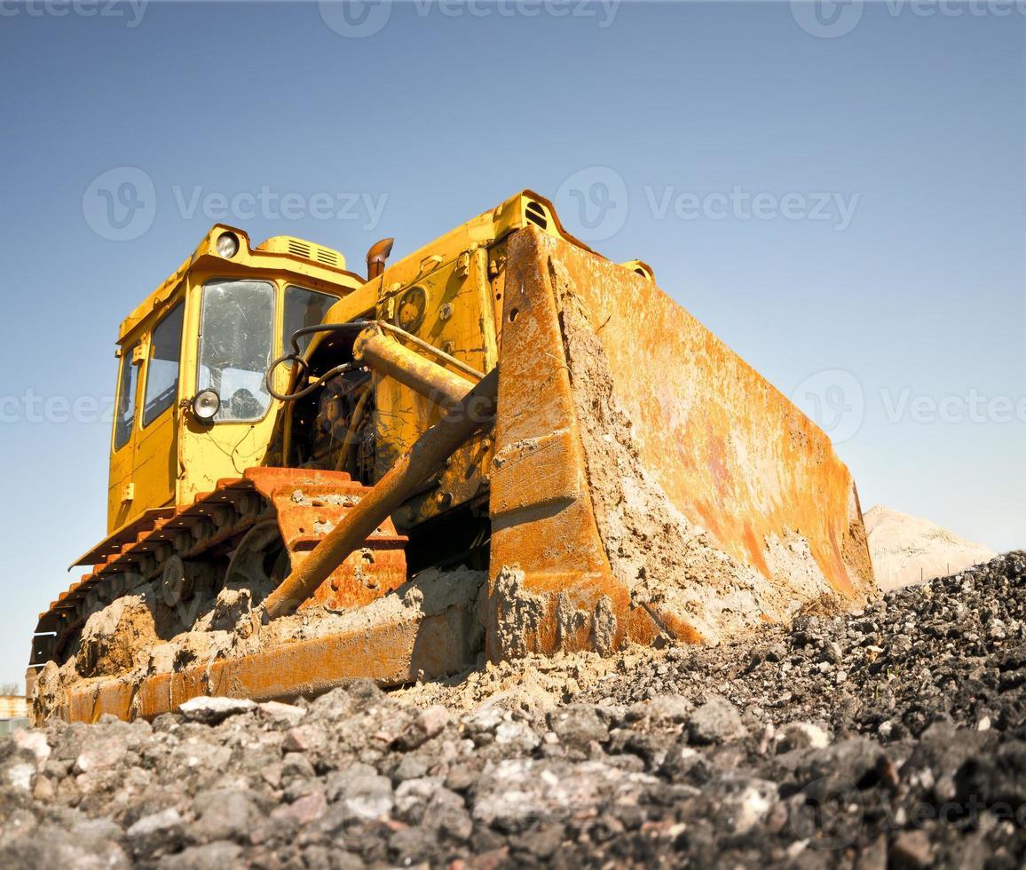 buldozer foto