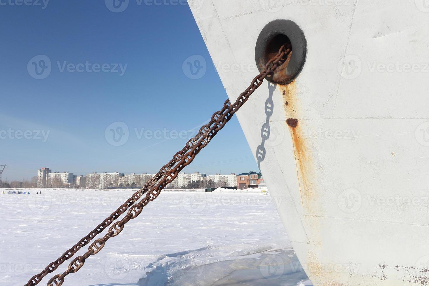 catena d'ancoraggio foto