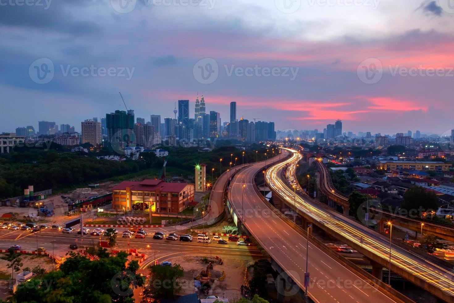 città della Malesia foto