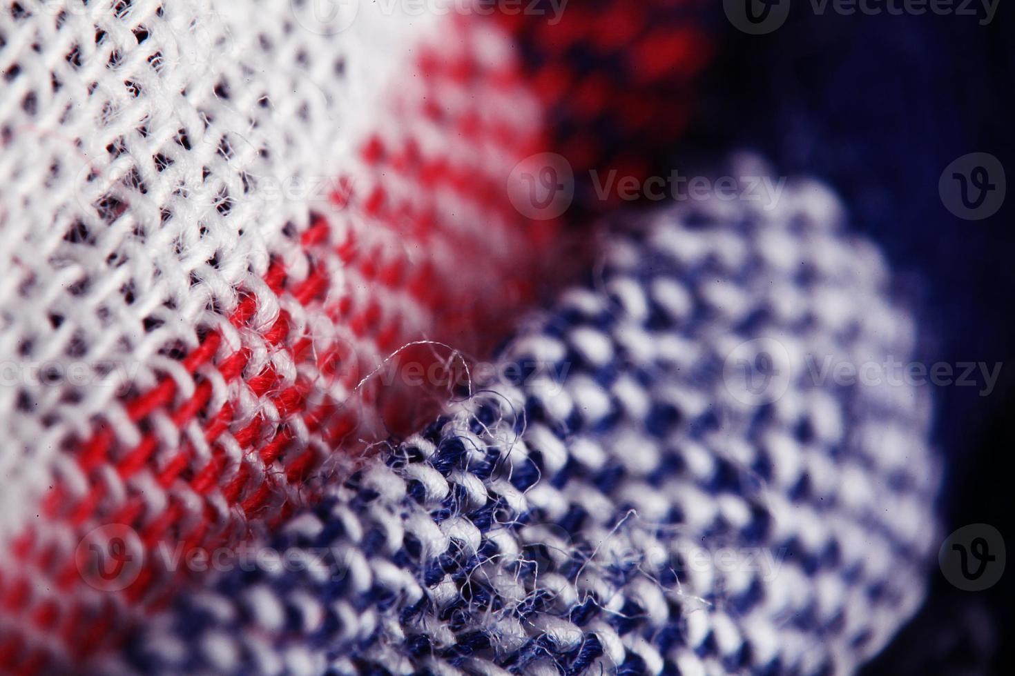trama del tessuto di lana foto