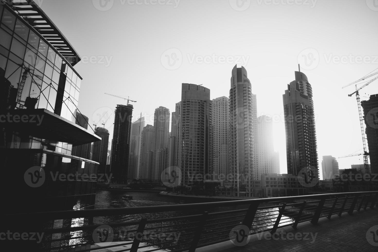 bellezza d'acciaio degli emirati. foto