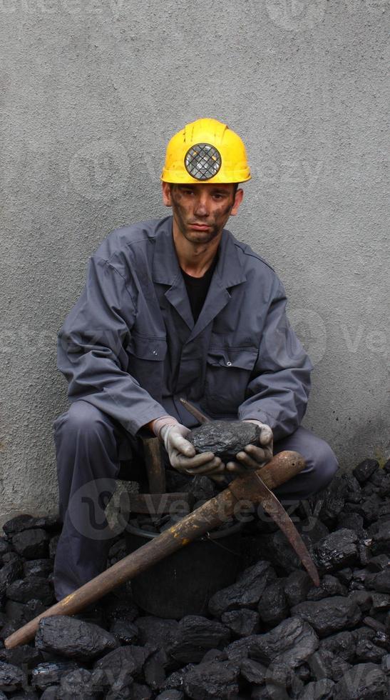 minatore di lavoro foto