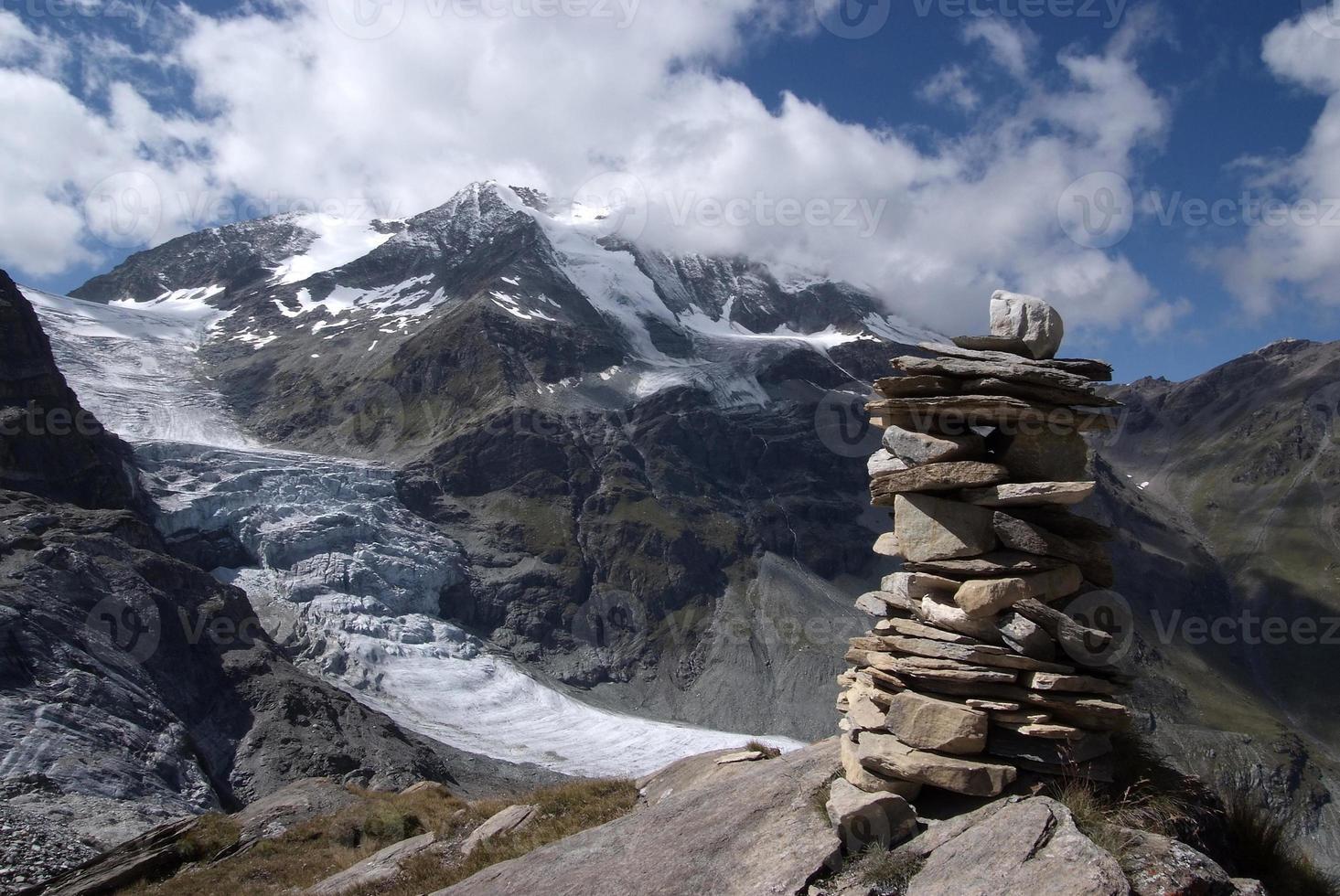 valle del tourtmagne (turtmann in tedesco) foto